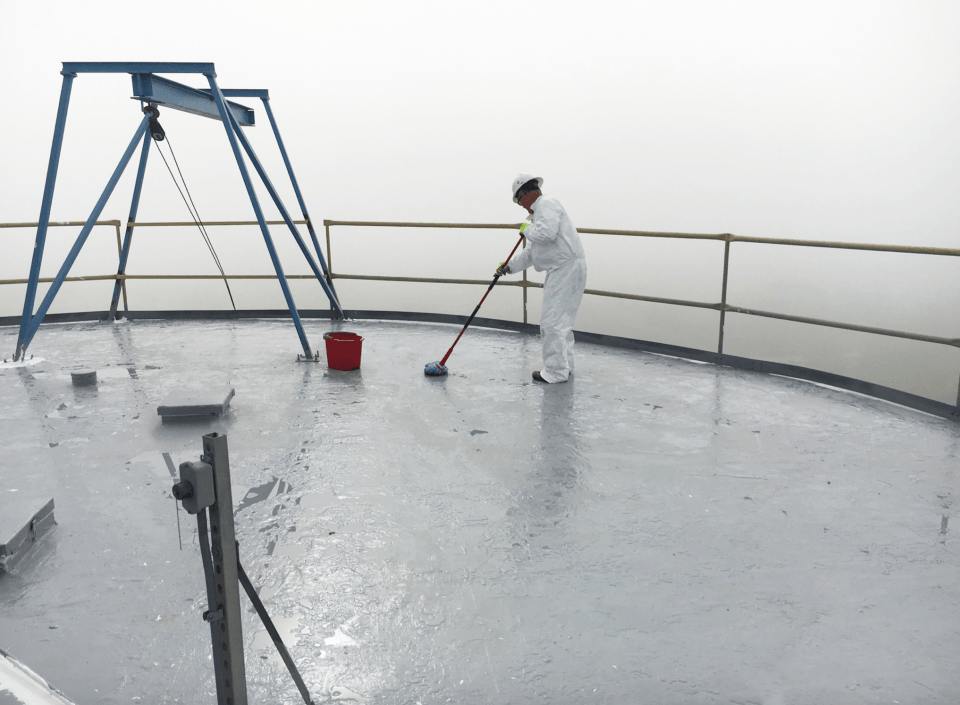 protective coating on roof